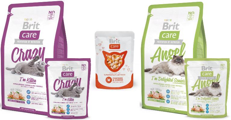 Сухой корм Brit Care для кошек - отзывы