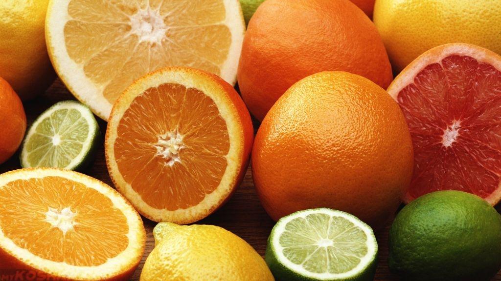 Цитрусовые лимон апельсин и остальные