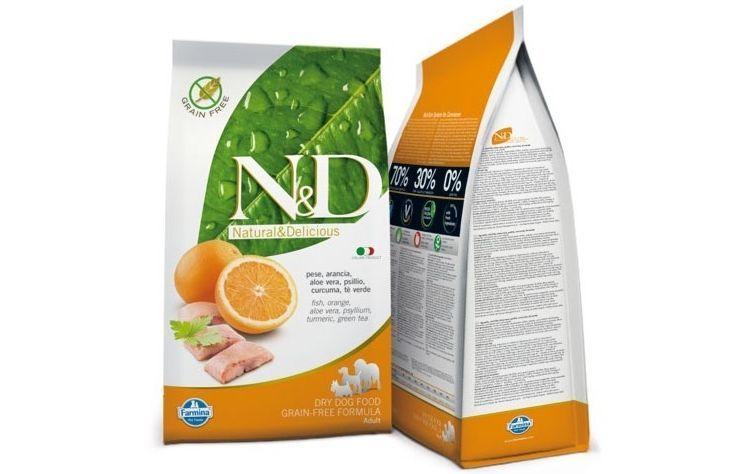 Корм для собак N&D Fish with Orange Adult