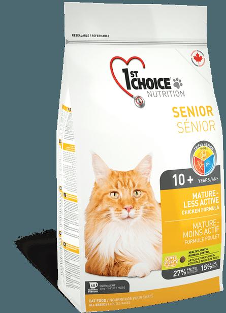 Корм для пожилых кошек